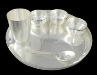 Sterling Silver Plated Dinner Set