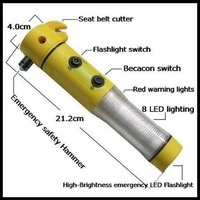 Alarm Torch With Hammer