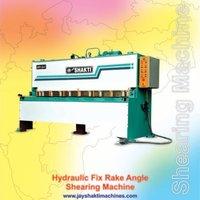 Hydraulic Fix Rake Machine