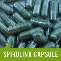 Spirulina Capsules And Soap