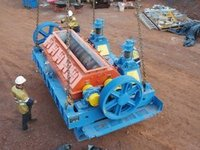 Heavy Toothed Double Roll Crushers
