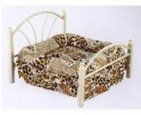 Dog and Cat Bed with Cot Flat Model (L)