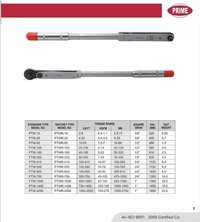 Click Type Torque Wrenches