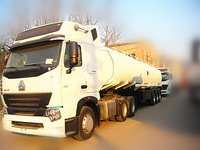 India Water Tank Semi Trailer 30m3