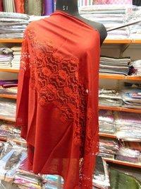 Pashmina Central Lace Design Shawls