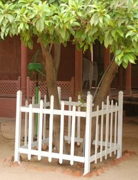 Wood Upvc Security Fencing