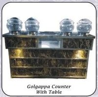 Golgappa Counter With Table
