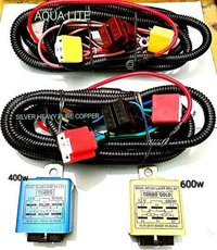 Dual Head Lamp Relay Wiring Harness For H4 Bulbs