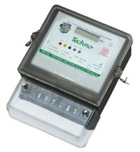 Three Phase Static Energy Meter With Lcd Upto 60 Amps