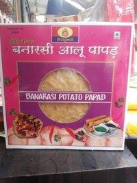 Banarsi Potato Papad