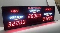 Gold Rate Display