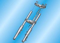 Fork Stanchion (Scooter, Motorcycle)