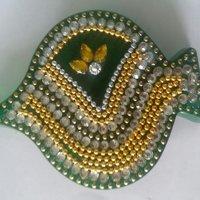 Decorative Acrylic Green Leaf