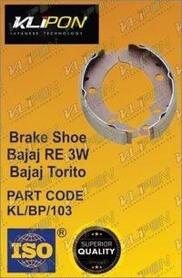Brake Shoe Bajaj RE Three Wheeler Parts