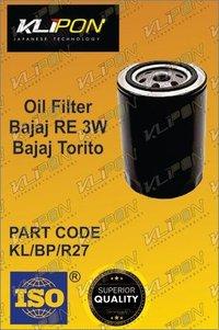Oil Filter Bajaj Re