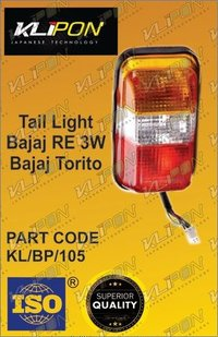 Tail Light Bajaj Re Three Wheeler Parts