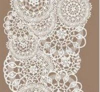 Fancy Garment Knitted Lace