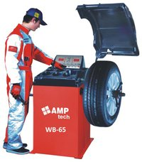 Wheel Balancer With Microprocessor