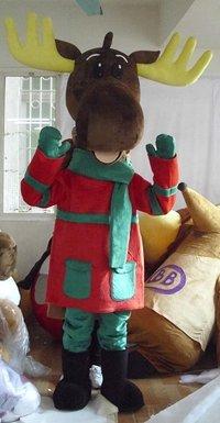Christmas Moose Costume