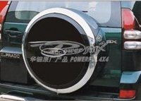ABS Painted Or Chromed Spare Tyre Cover