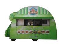 Burger Shaped Food Truck