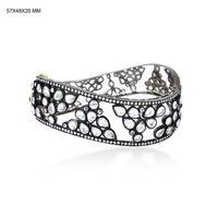 White Sapphire Designer Bangle Jewelry