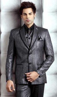 Imposing Black Suit