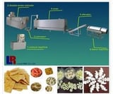 Double Screw Snack Food Processing Line