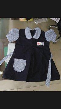 Little Girls School Uniform Frock