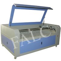 Two Laser Heads FAL-F100180S Fabric Laser Cutting Machine