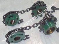 Round Link Chain Sprocket Wheel