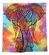 Multi Color Elephant Tapestry