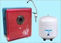 Domestic Ro Water Purifier-50/75gpd Red Butterfly And Flower Wall-Mounted
