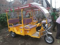 Solar Electric Rickshaw