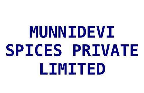 MUNNIDEVI SPICES PRIVATE LIMITED