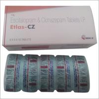 Escitalopram and Clonazepam Tablets IP