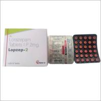 Lorazepam Tablets IP 2mg