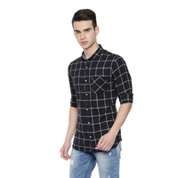 Merged Olive Casual Shirts