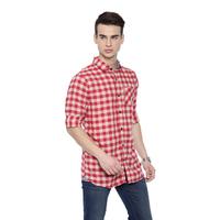 Super Triangle Cream Casual Shirt