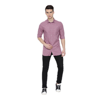 USP Grape Anchor Casual Shirts
