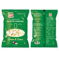 Roasted Makhana Cream and Onion