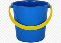 蓝色塑料桶
