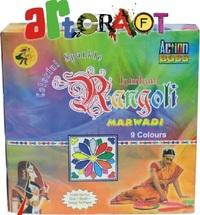 RANGOLI MARWADI(9 COLOR PACK)