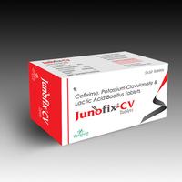 Junofix-CV(Cefixime+Potassium+Clavulanate-Lactic-Acid-Bacillus-Tablets)