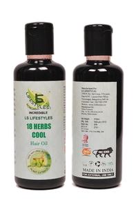 18 Herbs Cool Hair Oil