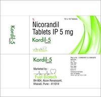 5 mg Nicorandil Tablets IP