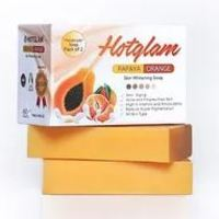 Hotglam Papaya Orange Skin Whitening Soap