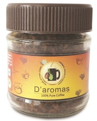 D'aromas 100% Pure Coffee 25Gm Bottle