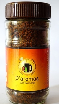 D'aromas 100% Pure Coffee 100Gm Bottle