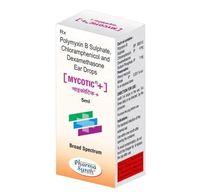 Polymyxin B Sulphate, Chloramphenicol And Dexamethasone Ear Drops
